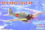 A6M5 Zero Fighter, skala 1:72, HOBBY BOSS 80241