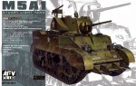 American light tank M5A1 Stuart, skala 1:35, AFV CLUB 35161